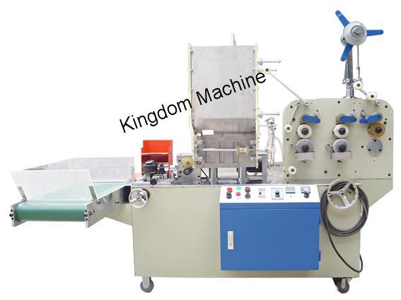 Máquina de Embalaje Popotes De Plastico KD31 sellado de 3 lados